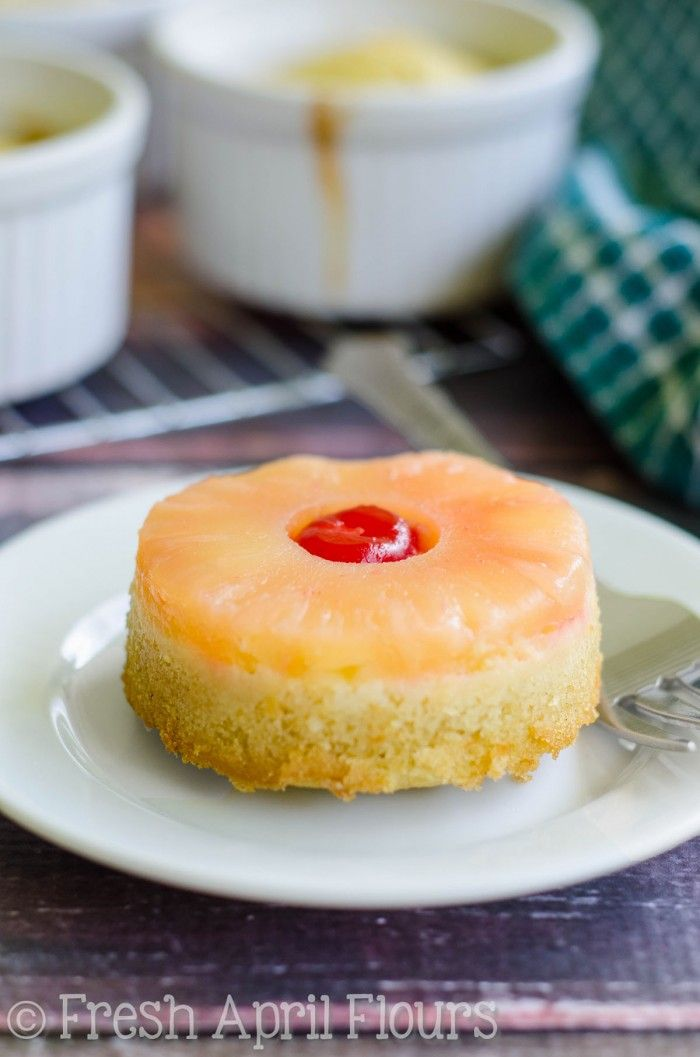 Mini Pineapple Upside Down Cakes Recipe Pineapple Upside Cake