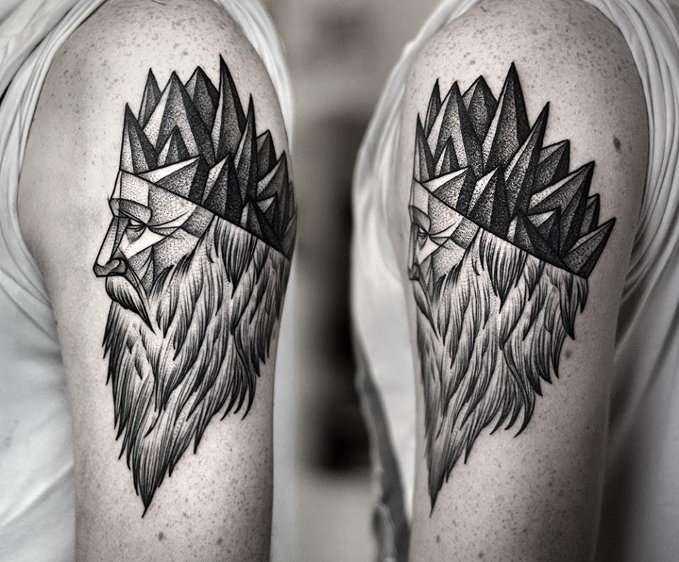 Dotwork Tattoo Photo Tattoos Tattoos For Guys Inspirational