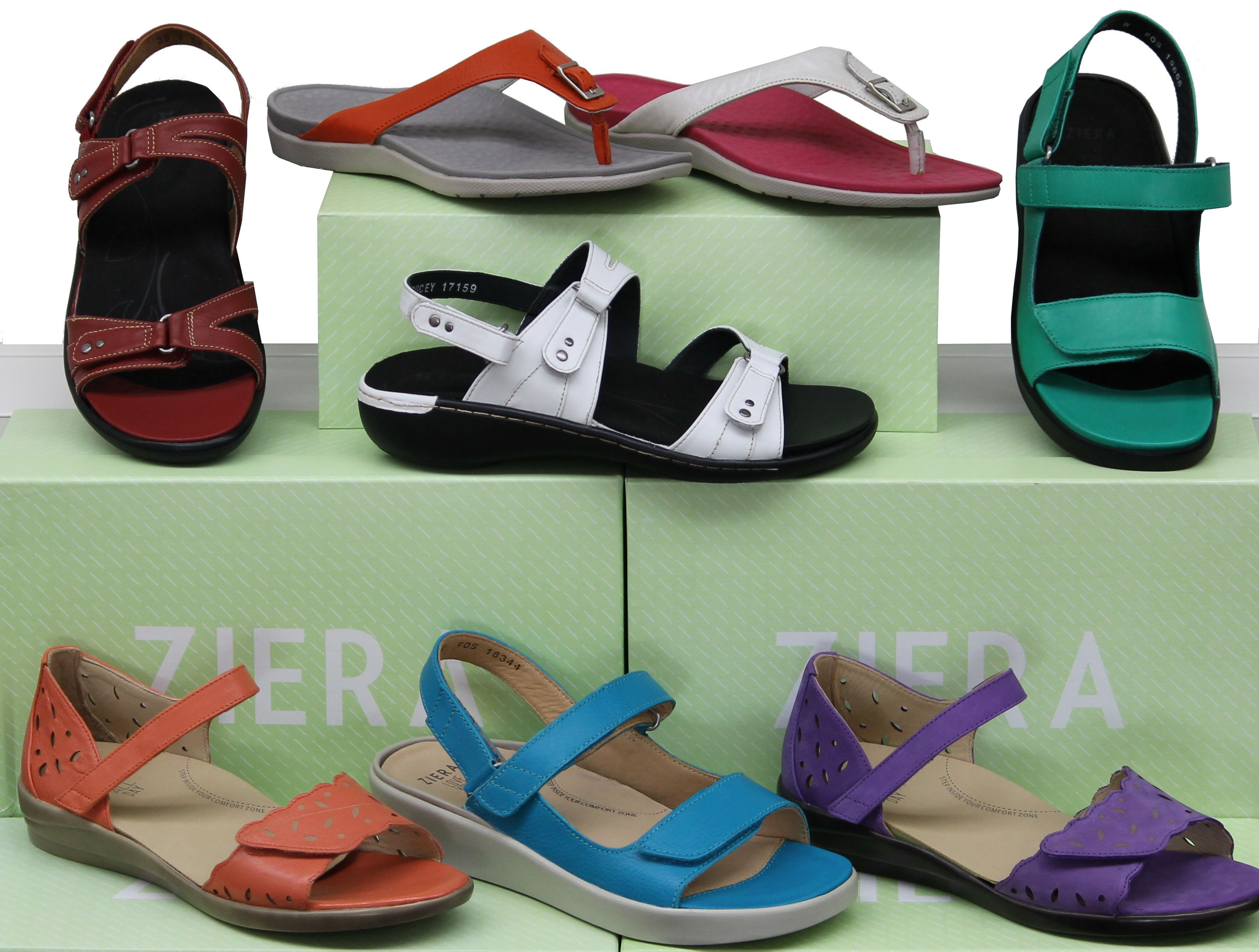Lovely sandals from Ziera! Lots of