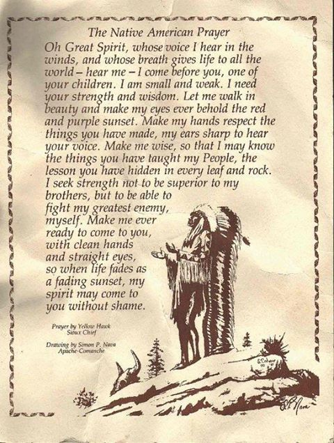 Image result for native american prayers