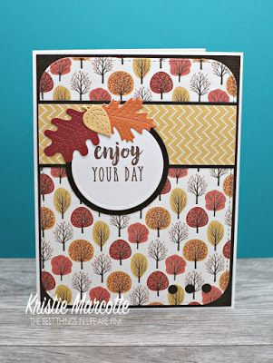 The best things in life are Pink.: Carta Bella's Hello Fall 6x6 cards #hellofall