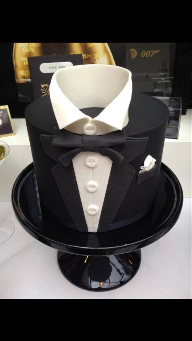 Tuxedo Cake is perfect as the Groom s Cake. Showpiece ...