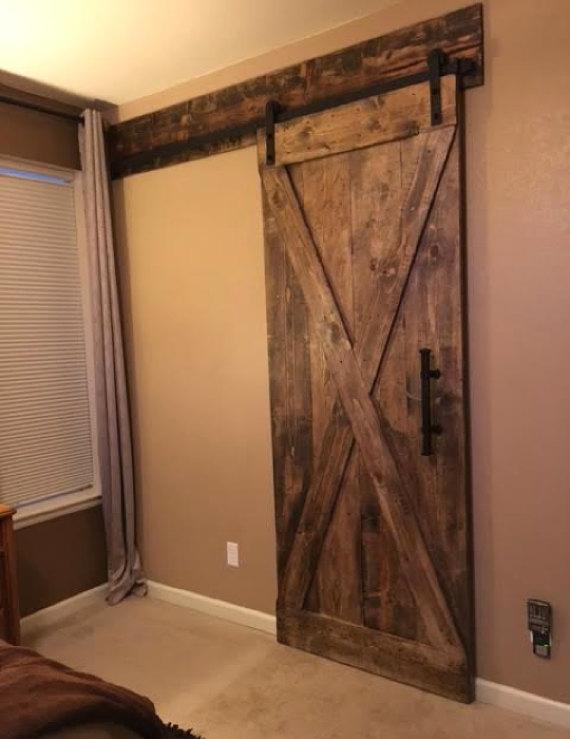 Barn Door Header Customize To Your Size Rustic House Barn Door Door Header