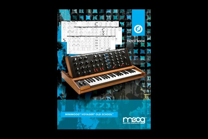 Moog Voyager Old School Patch Book $19 95 | Workspace