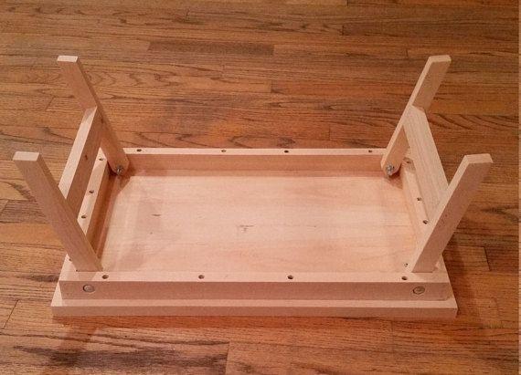 Lap Desk Table Tray Folding Legs Projetos De Madeira Faça Você Mesmo Vasos Mesa Cama - How To Make A Folding Table Legs