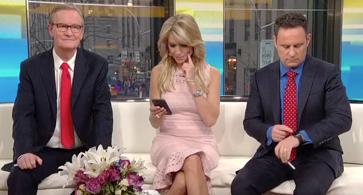 Fox News host forced to look up 'oligarchy' on live TV to