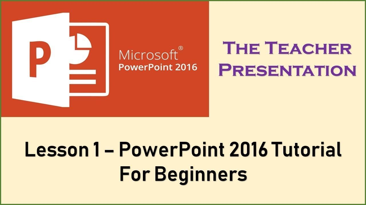 a4e42aba61ce6 Introduction to PowerPoint 2016 For Beginners