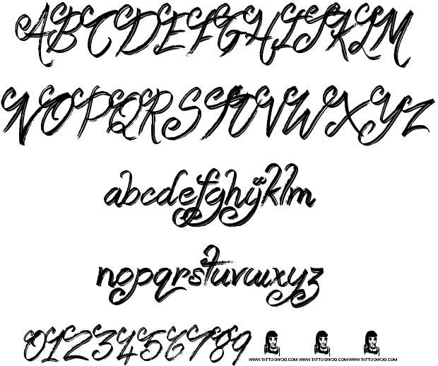 Booday Schriftart
