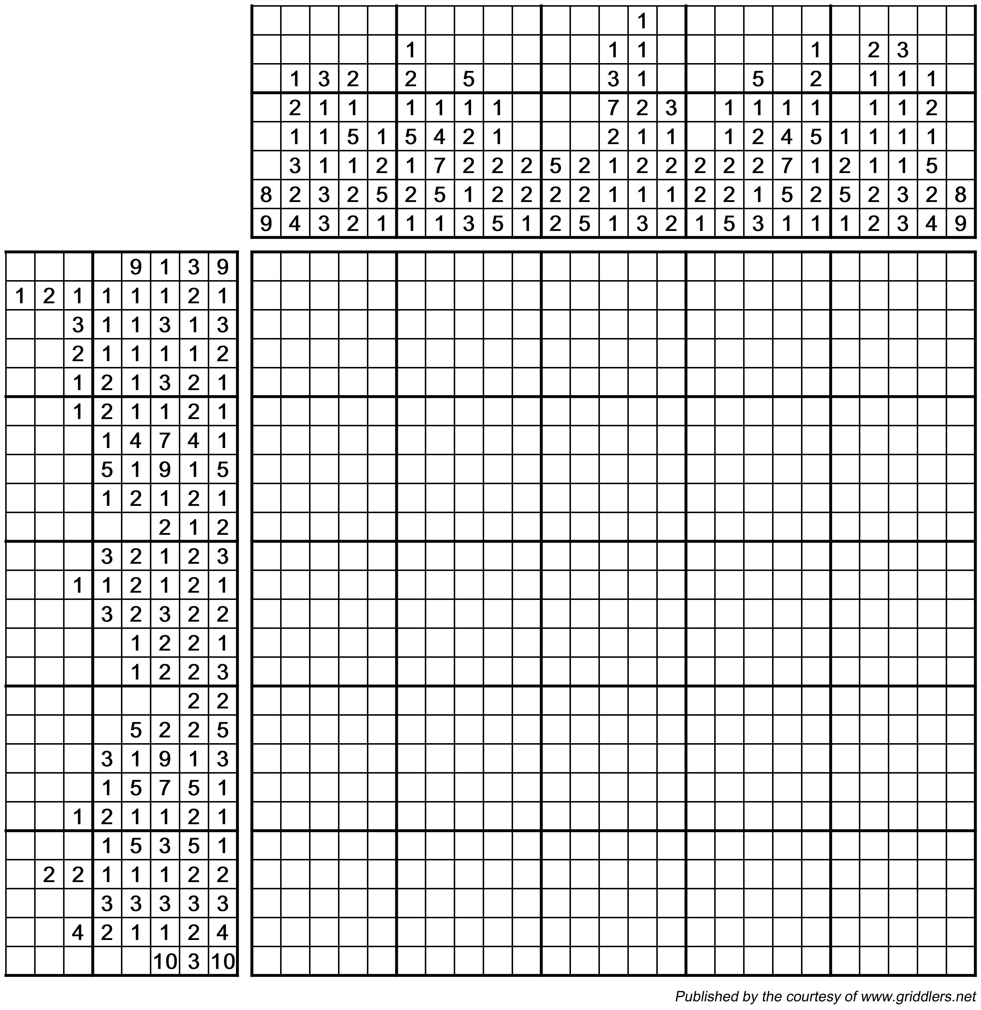 image regarding Printable Nonograms named Pin through Rastislav Rehák upon Everyday nonogram puzzles Intellect