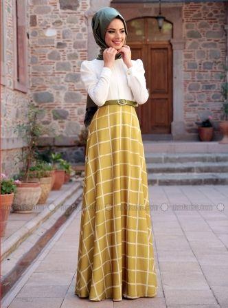Modanisa Elbise Modelleri 2016 Moda Stilleri Basortusu Modasi Elbise