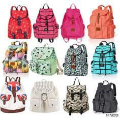 cute backpacks for middle school girls - Google Search | Book bags ...