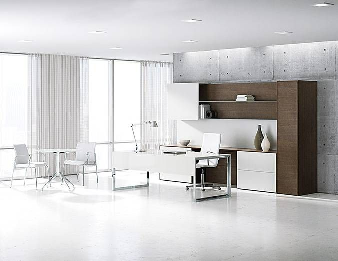 Merino By Nucraft Freestanding Application With Satin Etched Glass Delectable Modern Office Furniture Systems