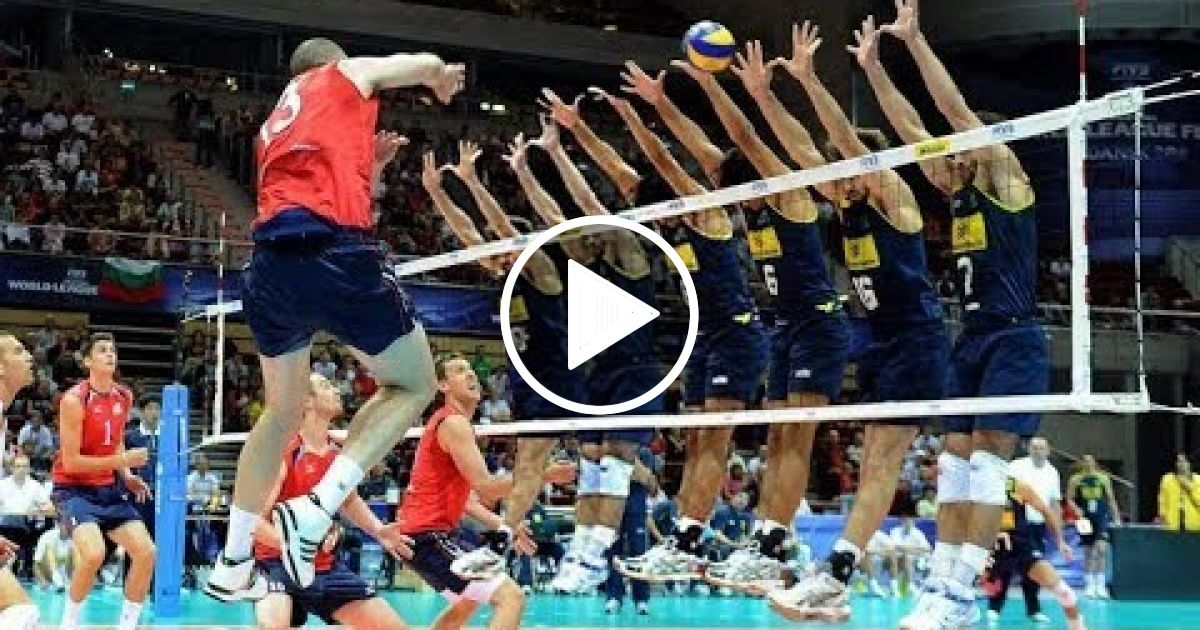 Volleyball 6 Person Block Funny Volleyball Videos Hd Sport Report Videos Volleyball Humor Volleyball Gifs Health Insurance Companies