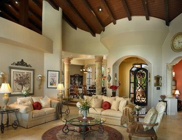 Living Room Design Houzz Prepossessing Houzz Mediterranean Living Room  Mediterranean 515 Mediterranean Decorating Design