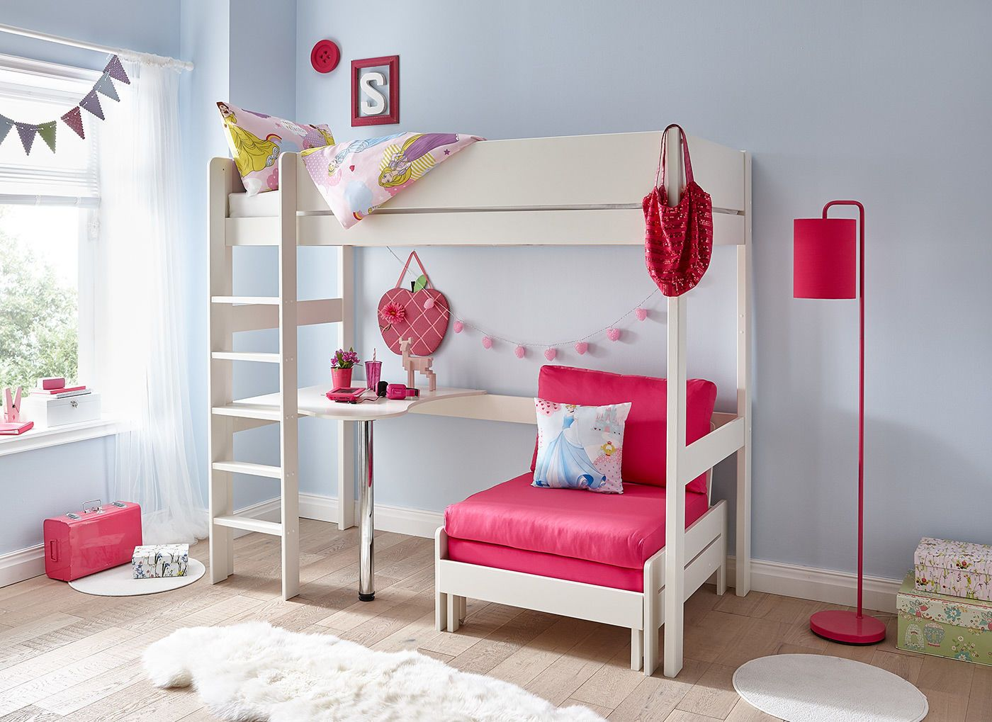 High Sleeper With Desk And Sofa Glif Org
