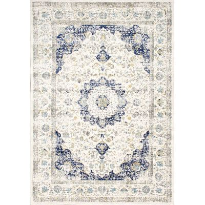 Found It At Wayfair Verona Blue Area Rug 8x10 212 Blue Area