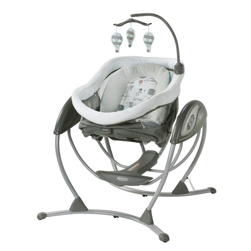 new styles 5aaf5 17501 Graco DreamGlider Gliding Baby Swing and Sleeper - Bellevue ...