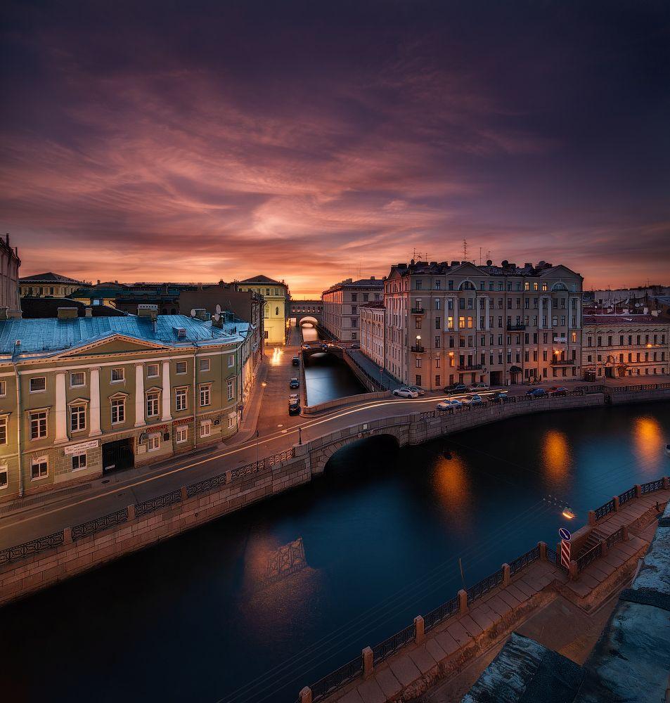 столица россии красивые фото ночного питера полуботинки