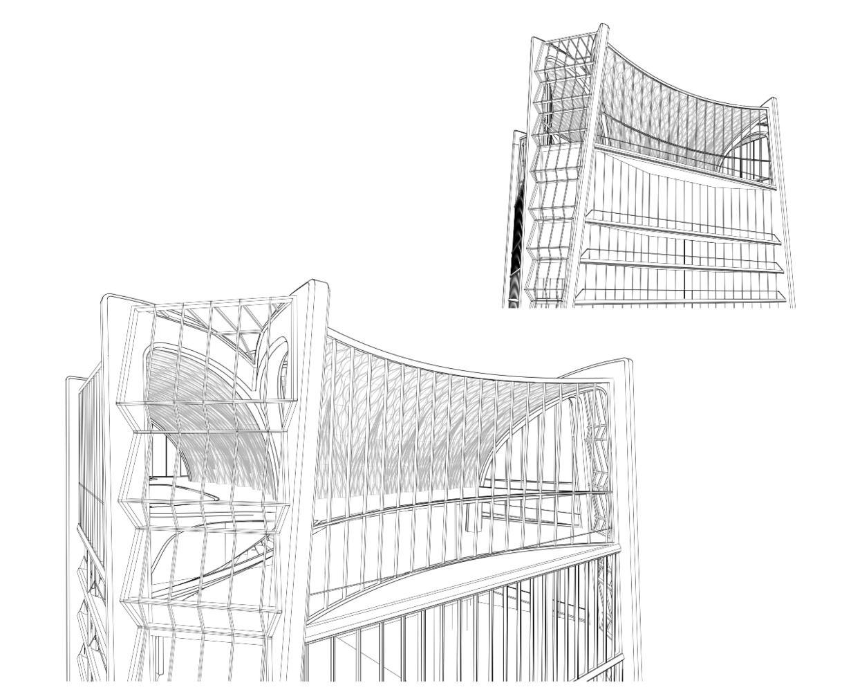 Galeria De Zaha Hadid Presenta Planimetria Estructural Del
