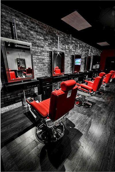 salon design photo gallery portfolio page one salon interiors inc - Barbershop Design Ideas
