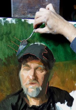 Palette Knife Painting Technique For 3d Objects By Carl Samson Palette Knife Painting Palette Knife Art Knife Painting