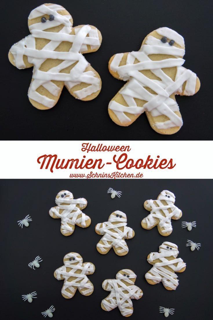 Mumien-Cookies - Untote zu Halloween - Schnin's Kitchen