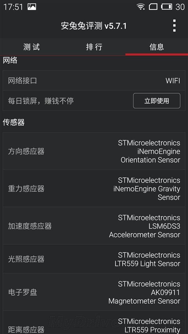 Novedad: El Meizu m2 Note no supera los 32.000 puntos en AnTuTu