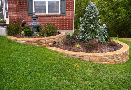 Sloped Front Yard Landscaping Google Search Green