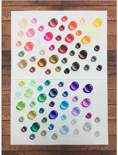 kuretake zig clean color real brush pen 24 color set in 2018