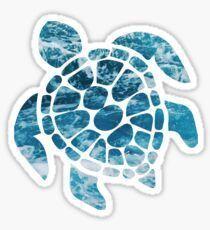 'Ocean Sea Turtle' Sticker by emilystp23