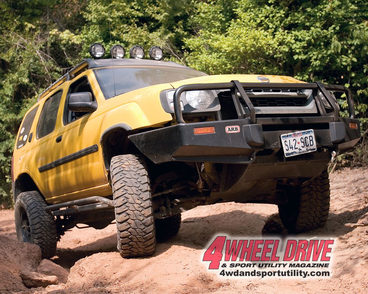 Car upgrade this year sport utility yellow xterra custom car upgrade this year sport utility yellow xterra custom wheels bumper and light vanachro Images