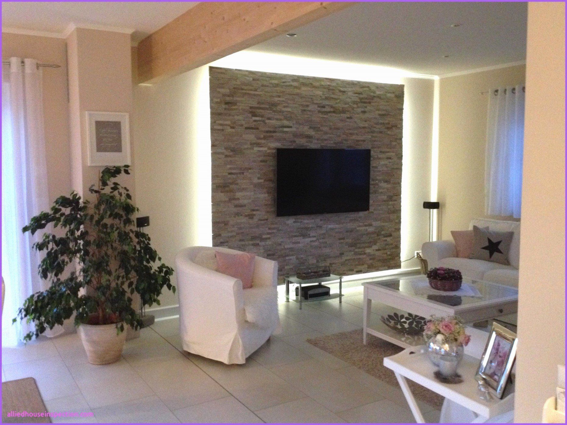 Living Room with Tv Elegant Wohnzimmer Tv Wand Rigips in 7