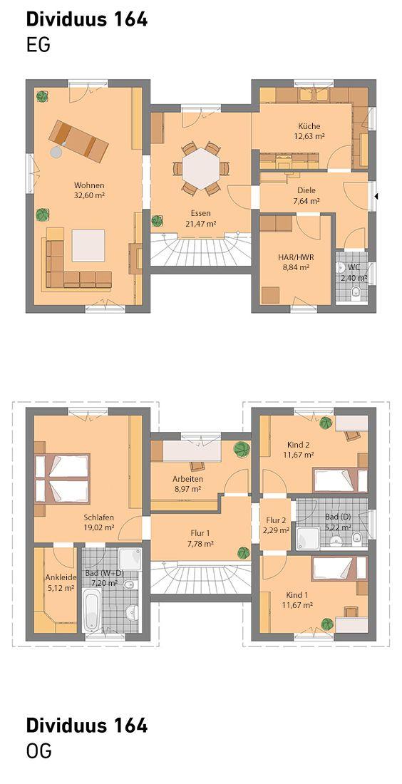 spektral haus dividuus 164 all unsere h user sind individuell planbar und auch mit keller. Black Bedroom Furniture Sets. Home Design Ideas