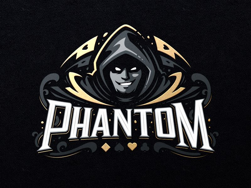 Phantom Team Logo Design Game Logo Design Sports Logo Design