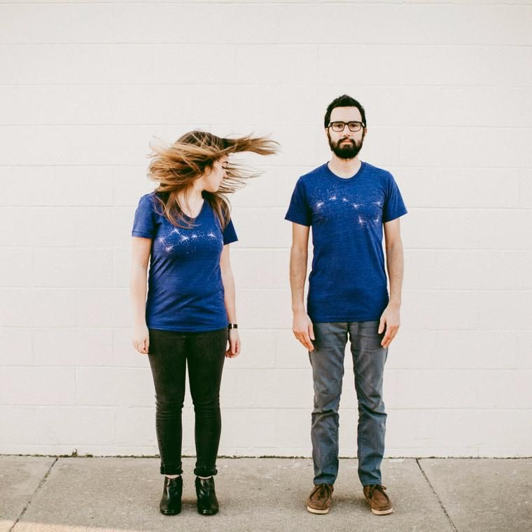 His and Hers Dipper Set - Blue