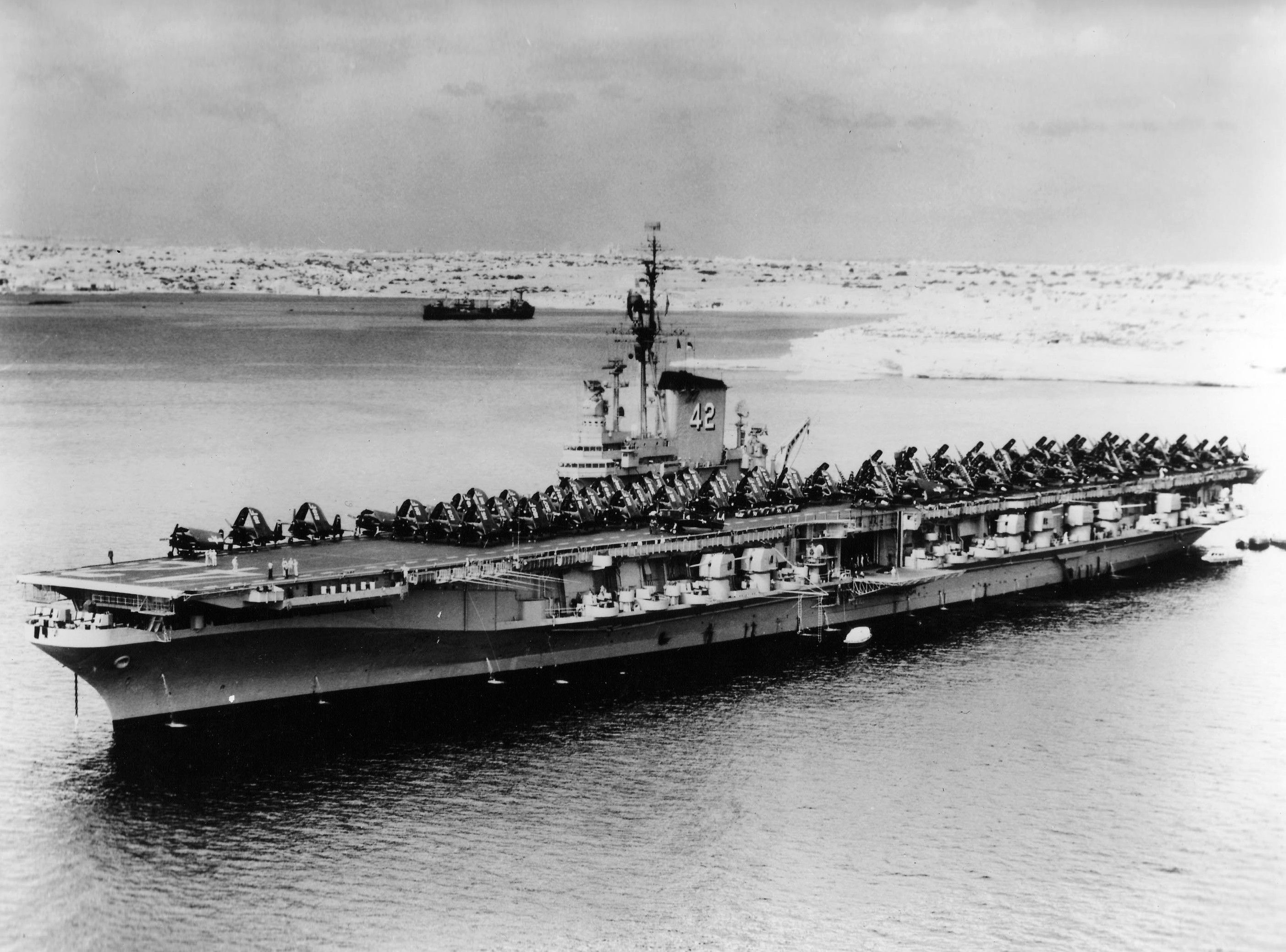 USS Franklin D. Roosevelt (CV-42) was the second of three ...