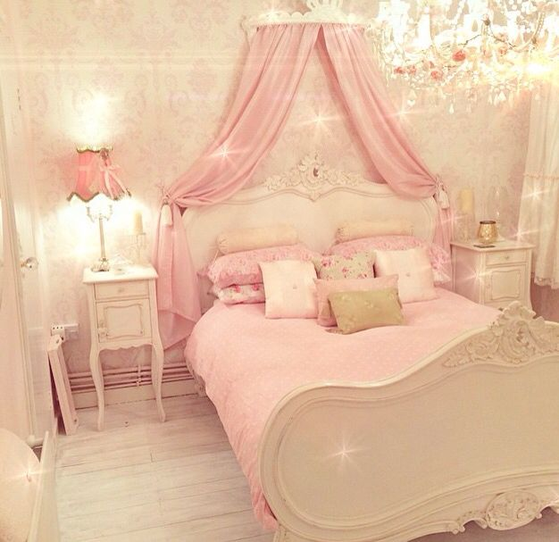 pink girly room i absolutely adore this