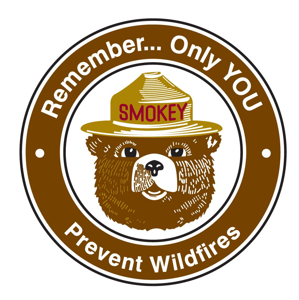 FirePrevention Smokey the Bear. Love it! Reminds me of