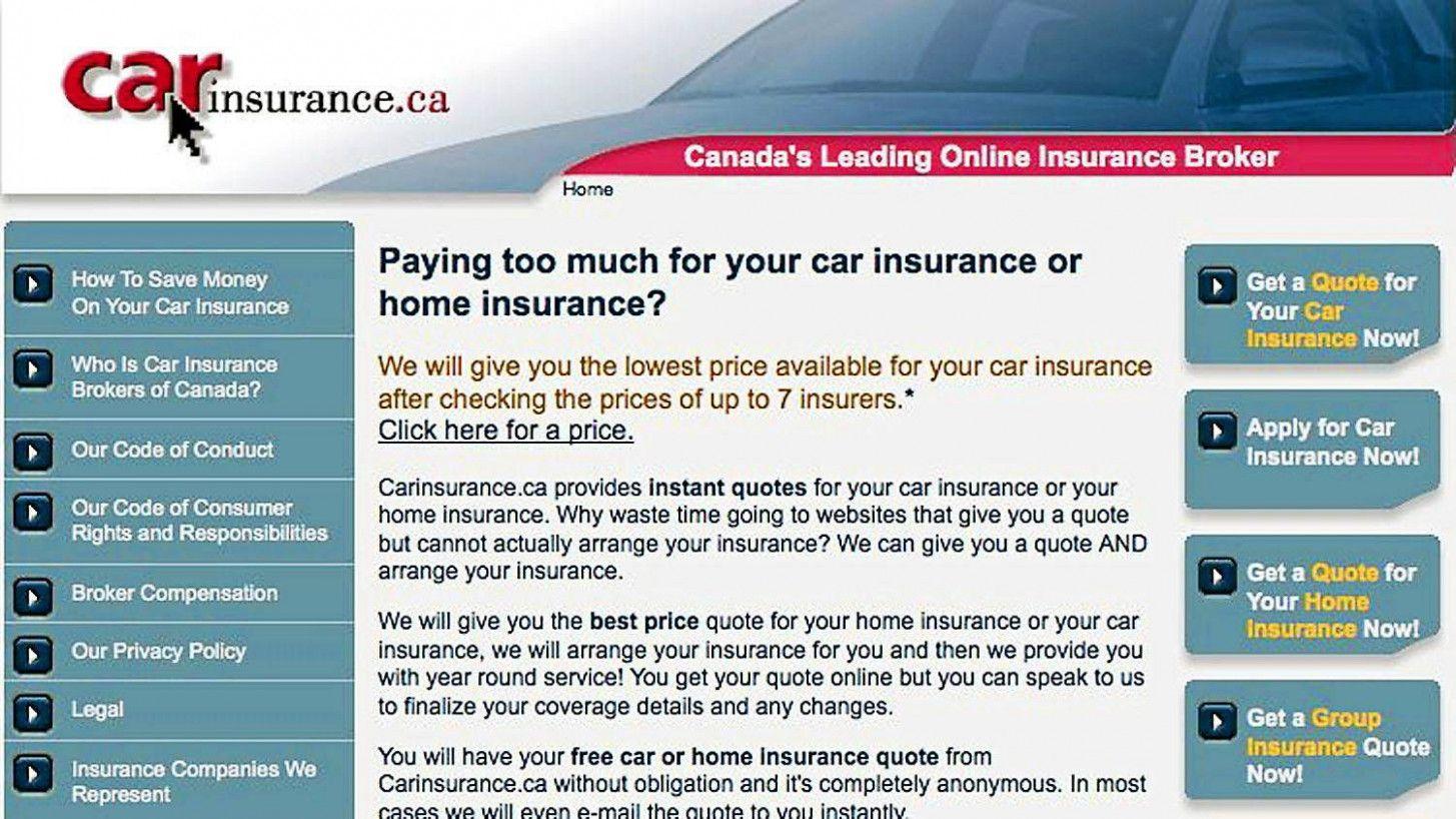 Insurance Car In Canada