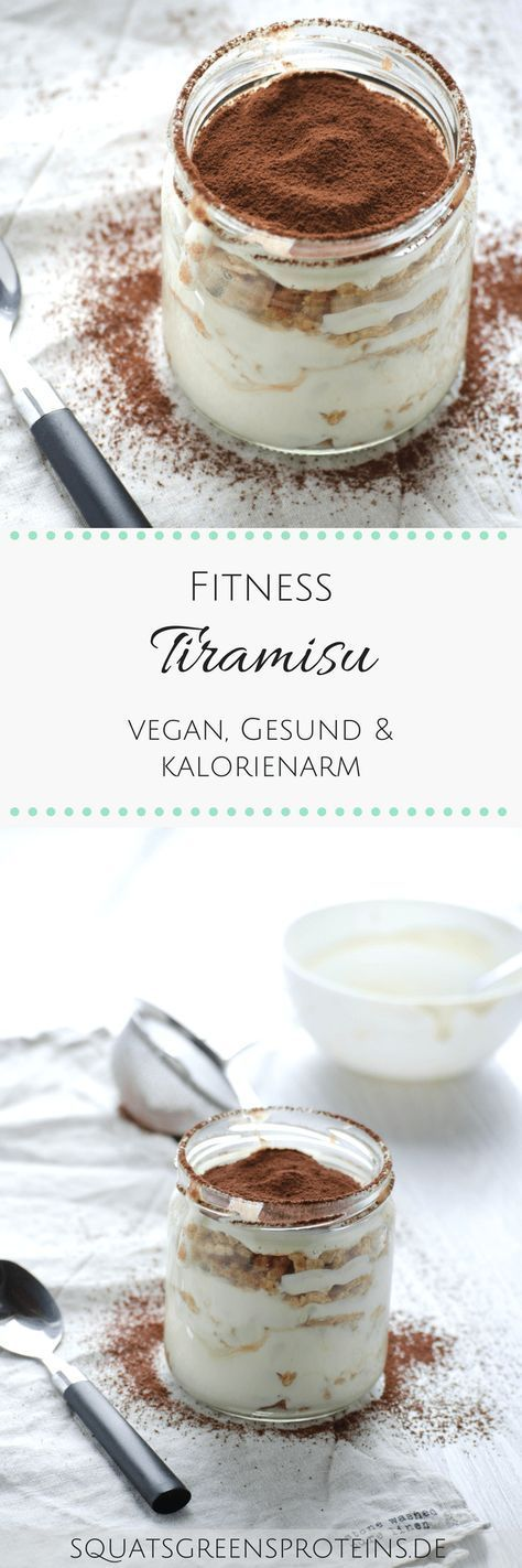 Rezept: Veganes Fitness-Tiramisu - Squats, Greens & Proteins by Melanie #sugarfree