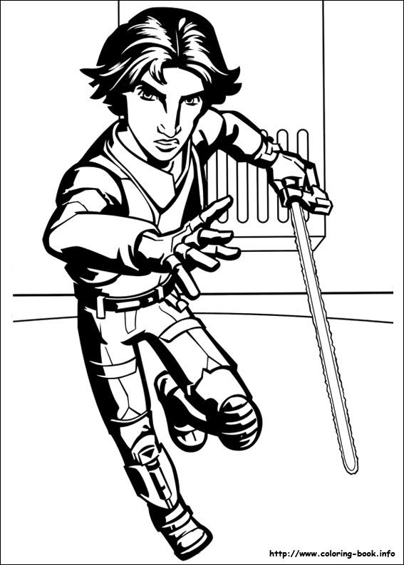 Star Wars Rebels coloring picture Printables Pinterest Star
