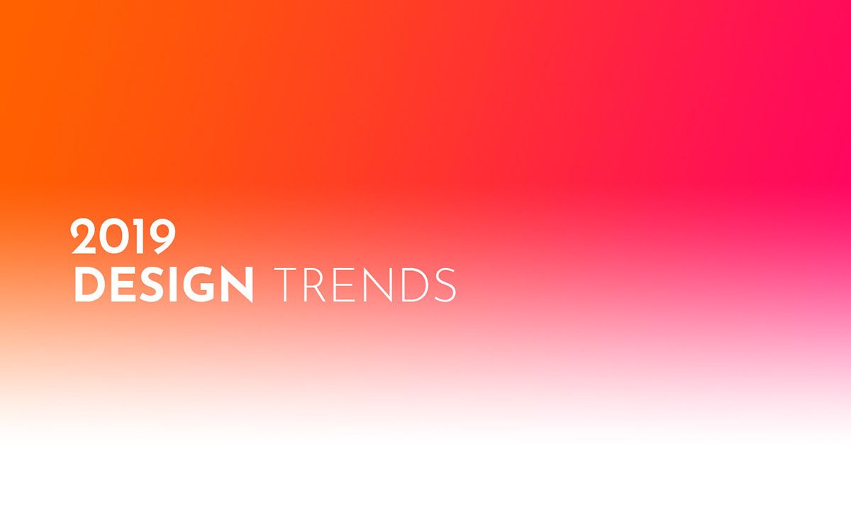2019 Design Trends Guide on Behance | Design | Graphic