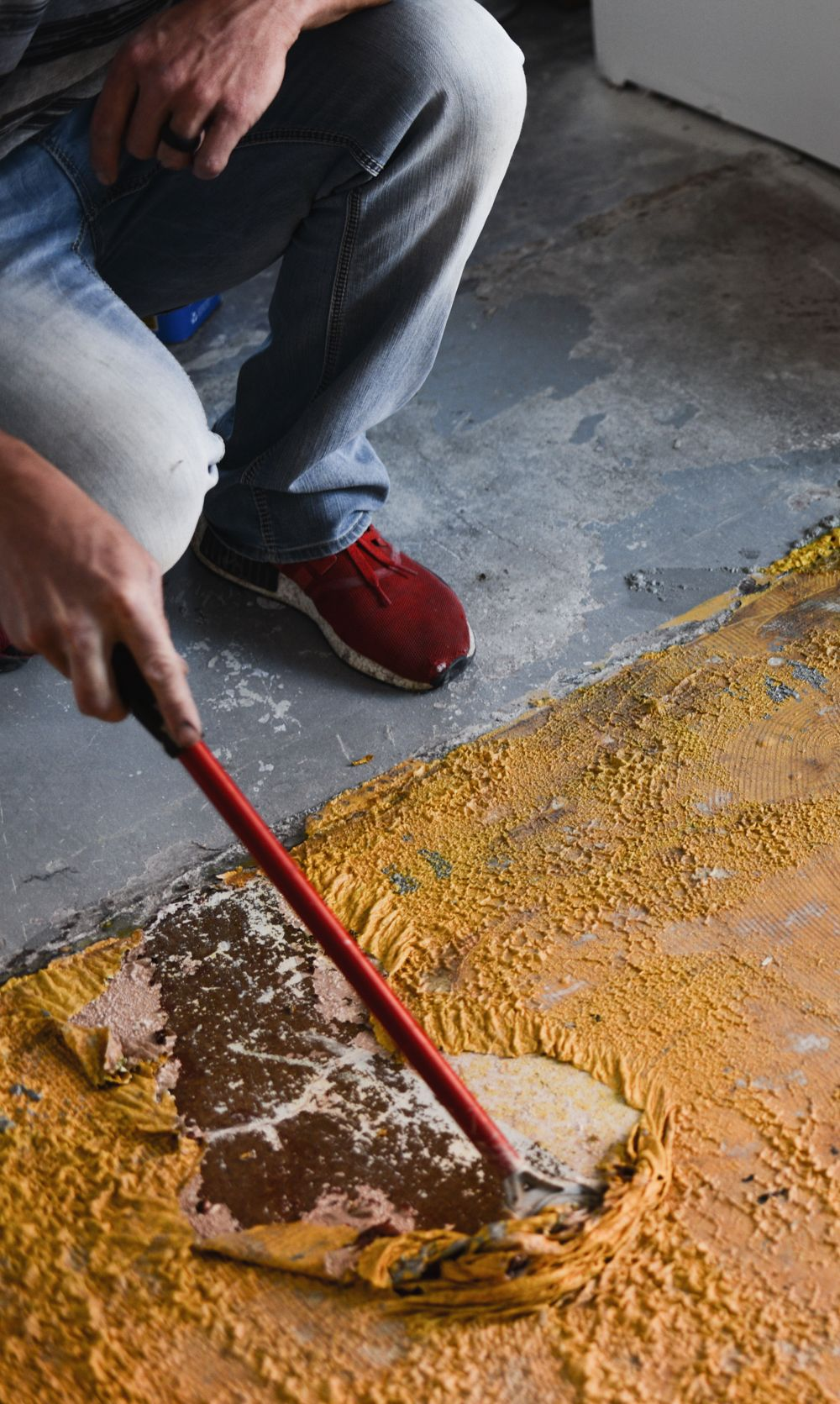 How to remove paint from concrete with images paint