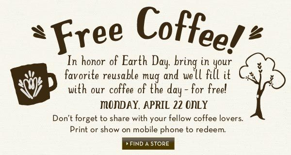 Saving 4 A Sunny Day: Free Coffee Today At Caribou Coffee