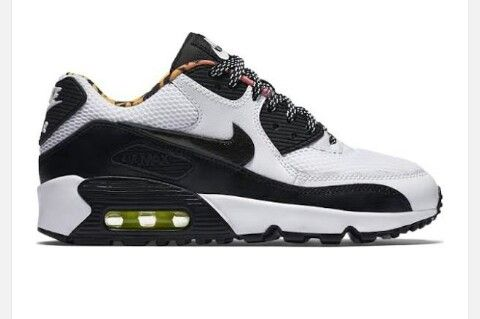 Sacai Nike Air Max 90 White Black | GrittyRebelGents | Pinterest | Air max  90, Air max and Nike roshe
