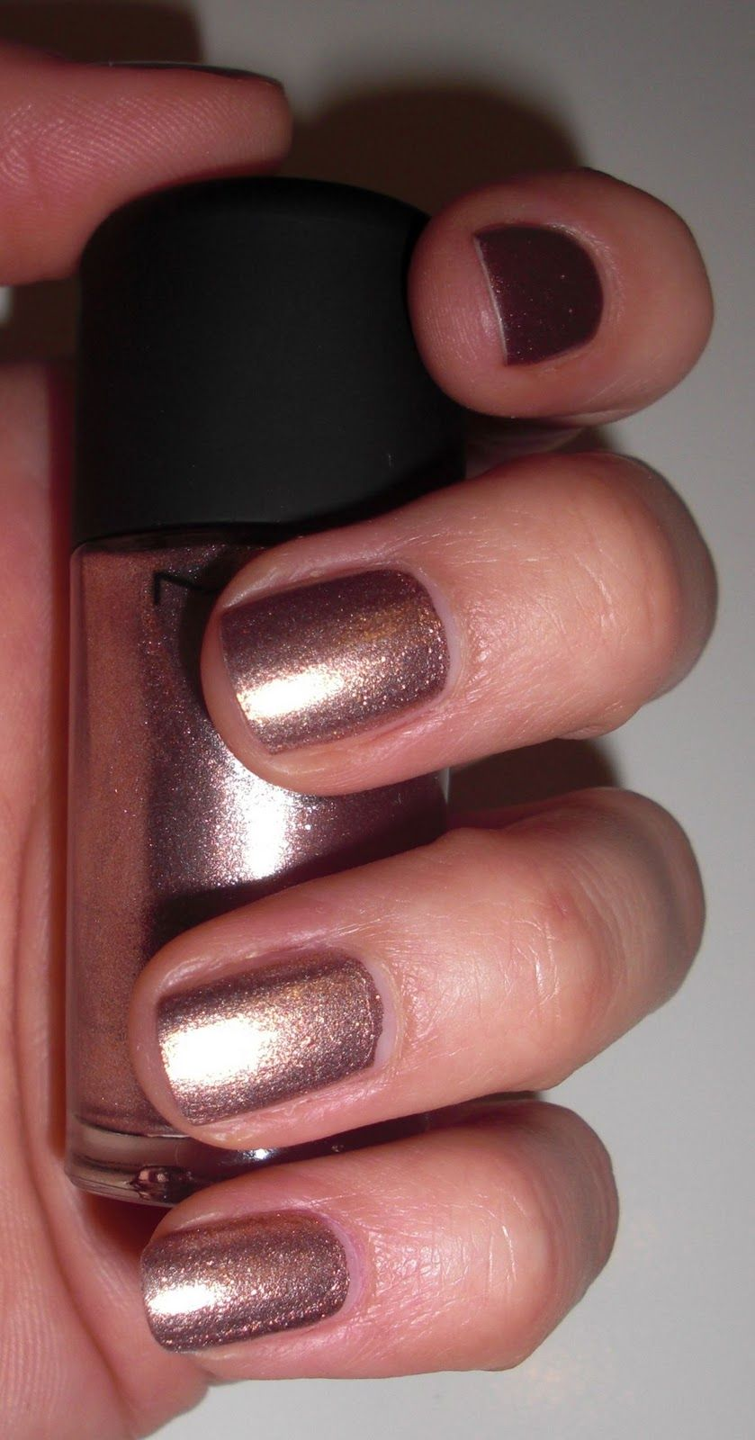 Rose gold nail polish from MAC - this is toooo pretty :) | Beauty ...