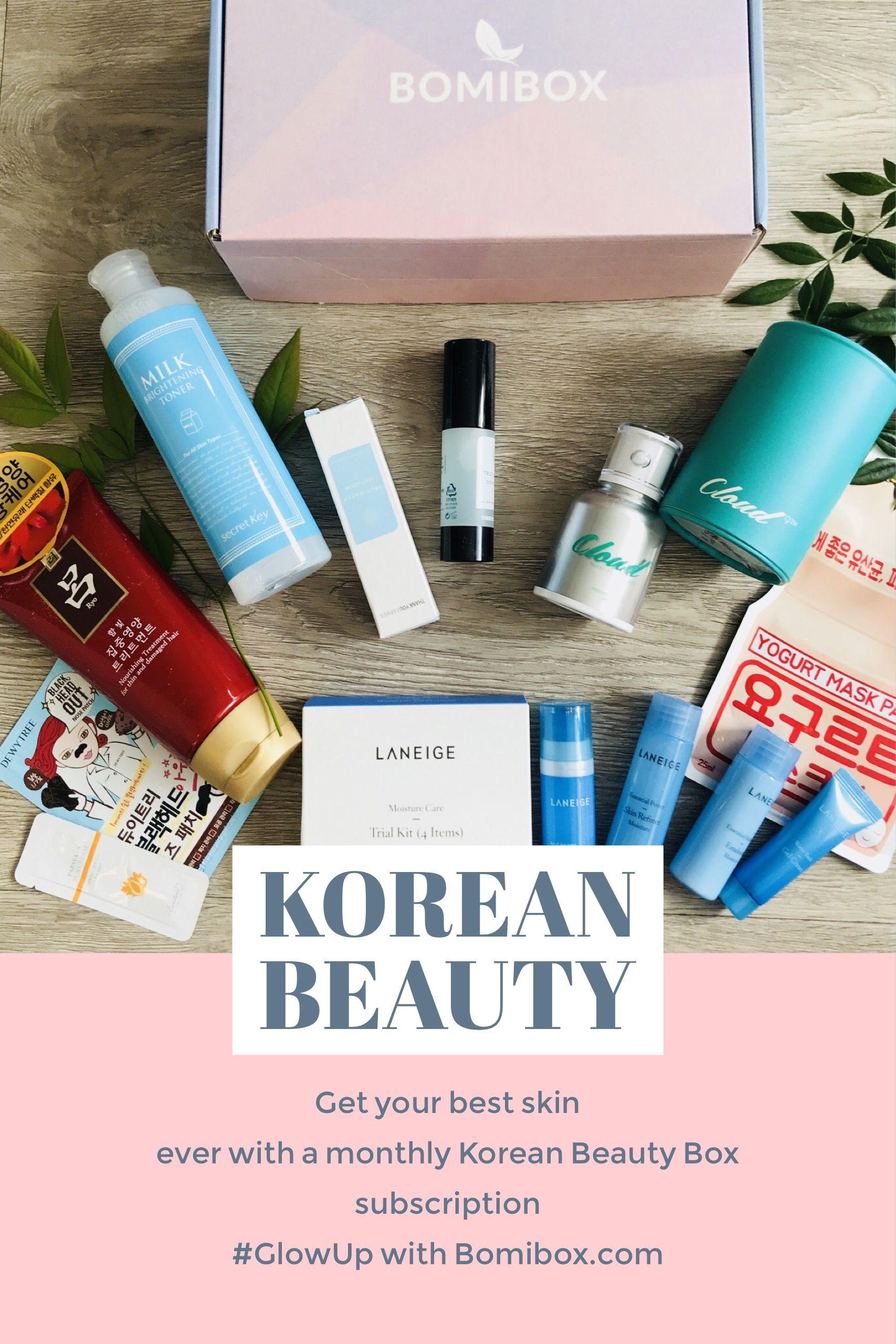 Pin By Bomibox Korean Beauty Box And Online Korean Skincare