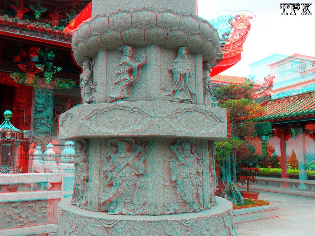 3D Images - Chaozhou Kaiyuan Temple