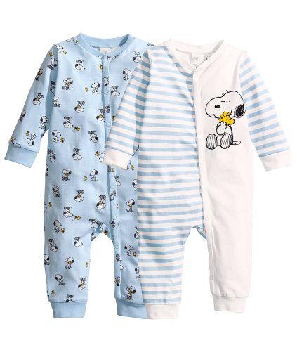 Kids Newborn Size 0 9m H M Us Snoopy Fashionable Baby