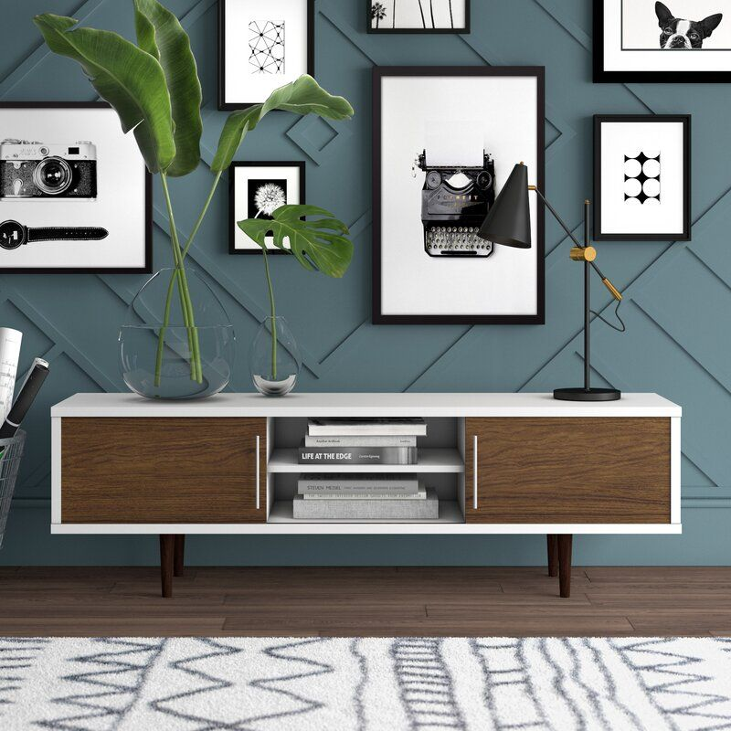 """Iversen TV Stand for TVs up to 65"""" images"""